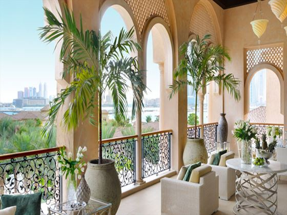 Grand Palm Suite Terrace at One&Only The Palm