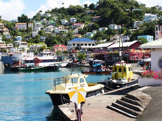 Grenada shipping harbour