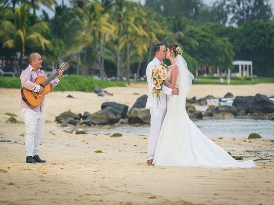 Wedding couple on Heritage Awali