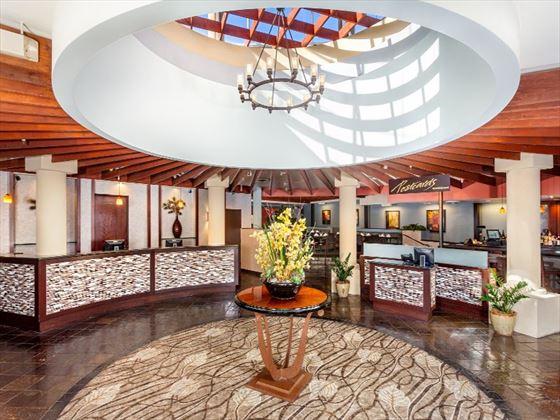 Handlery Hotel lobby