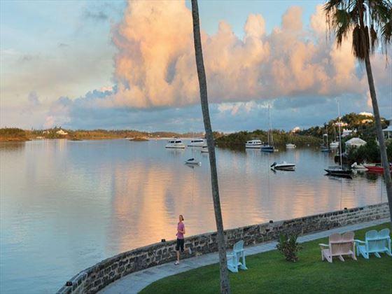 Harbour views from The Fairmont Hamilton Princess