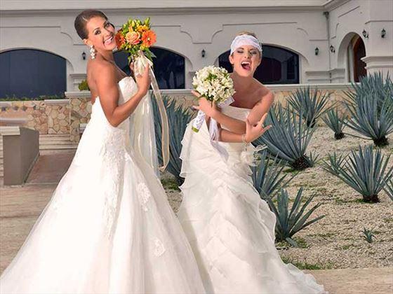 Brides rock at the Hard Rock Hotel Riviera Maya