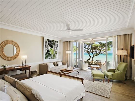 Heritage Le Telfair, Beachfront Suite