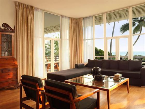 Heritance Ahungalla Luxury Suite living room