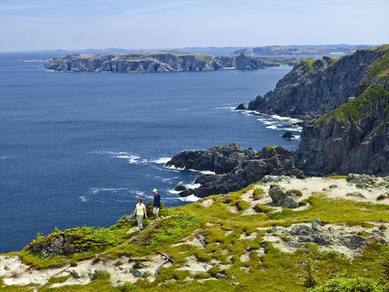 Hiking trails in Twillingate