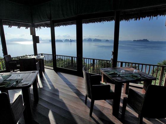 Hilltop Reserve Dining Room, Six Senses Yao Noi
