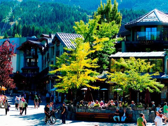 Village day in Whistler