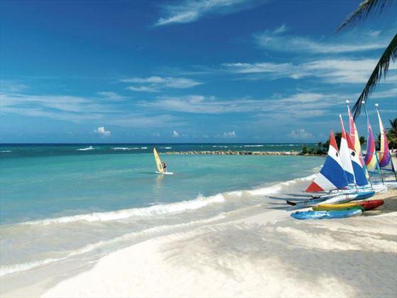 Hilton Rose Hall Resort & Spa Hotel beach