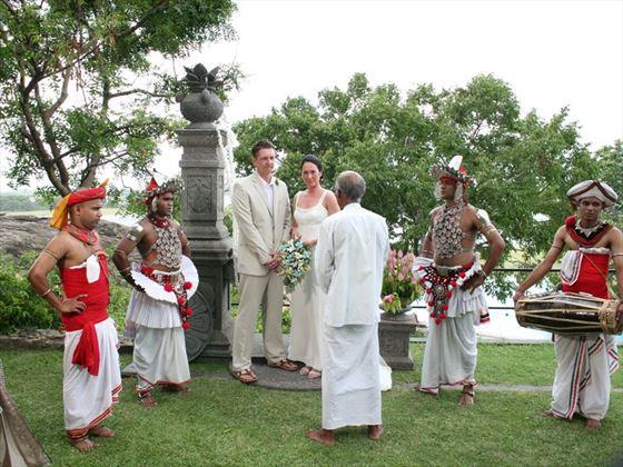 Heritance Kandalama wedding