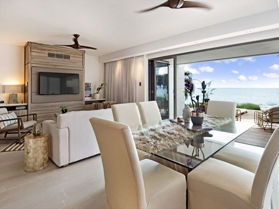 Oceanfront Four Bedroom Luxury Villa at Hodges Bay Resort & Spa