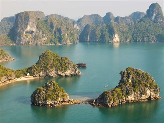View of Halong Bay