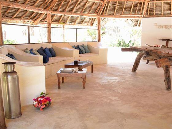 Indigo Beach Zanzibar lounge area