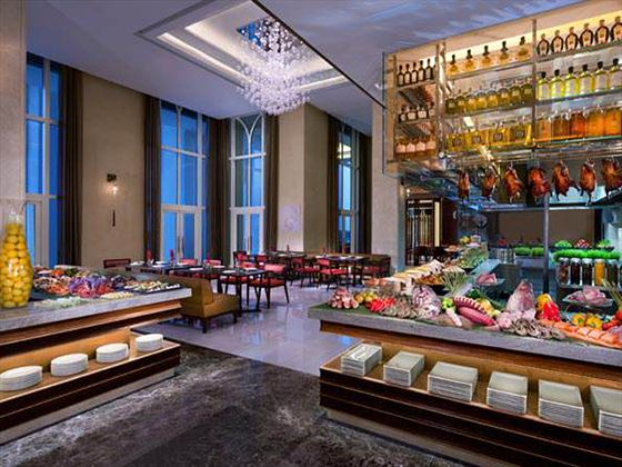 Ingredients buffet at Eastern Mangroves Hotel & Spa by Anantara