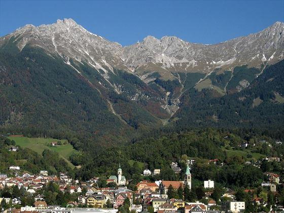 Innsbruck in the heart of the Austrian Alps