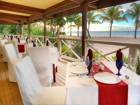 Ismay's Restaurant at Galley Bay Resort & Spa