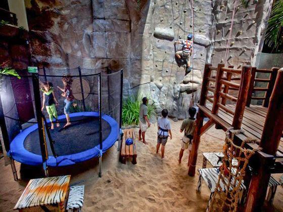 Jungle Camp kids club at Hilton Bali Resort