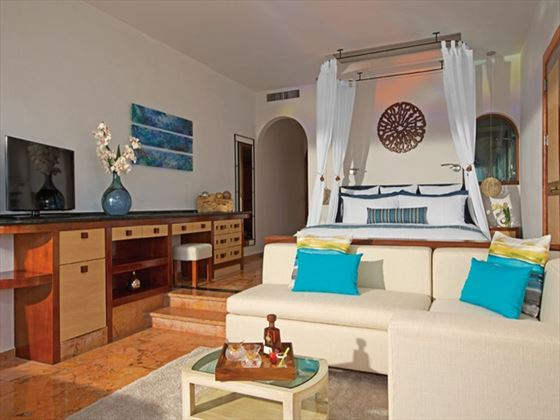 Junior Suite Oceanfront at Zoetry Villa Rolandi Island Mujeres