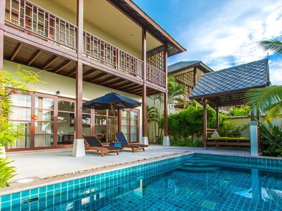 Balcony Pool Villa
