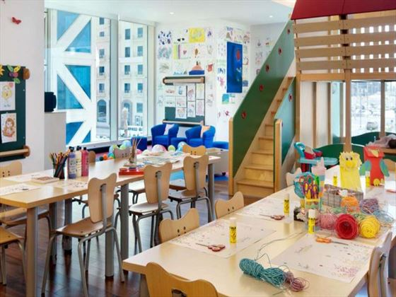 Kempinski Residence & Suite Doha kids play room