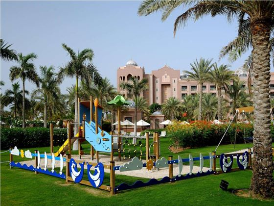Kids playground at Emirates Palace, Abu Dhabi