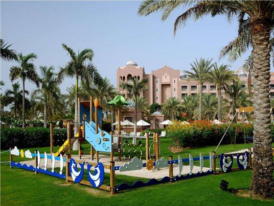 Kids playground at Emirates Palace, Abu Dhabi