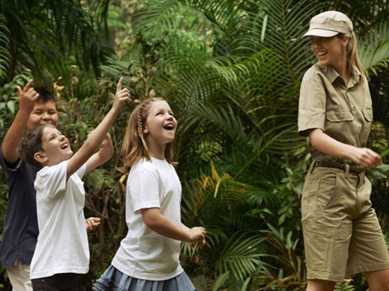 KidsOnly wildlife encounters at One&Only Hayman Island
