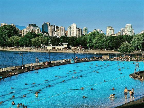 Kitsilano outdoor pool, Vancouver