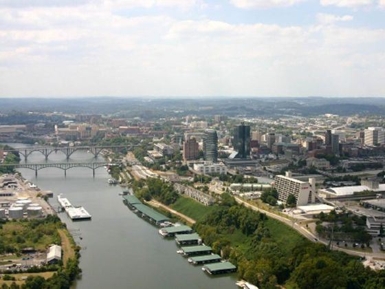 Knoxville River, Tennessee
