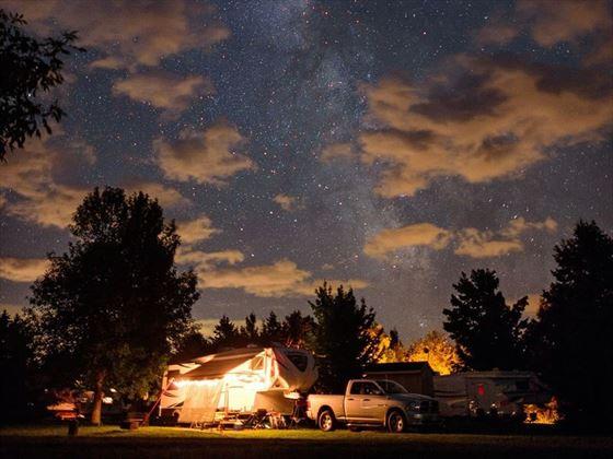 Kouchibouguac National Park Dark Sky Preserve RV camping