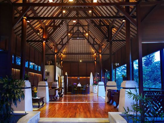 Kupu Kupu Barong Villas & Tree Spa lobby