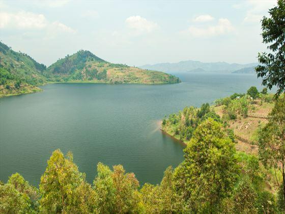Lake region of Rwanda