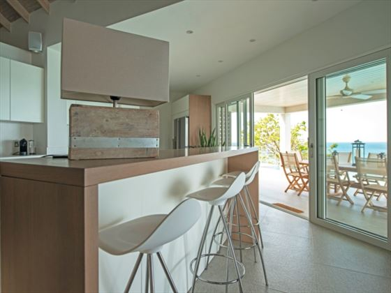 Laluna Villa kitchen