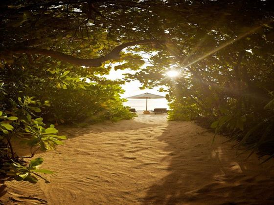 Park Hyatt Hadahaa Private beach access
