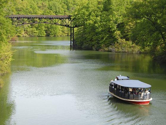 Lazy river tour, Williamsburg