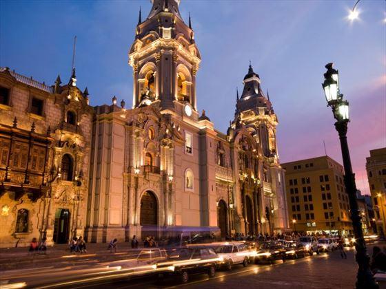 Lima at night