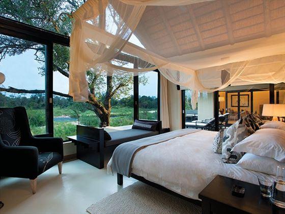 Ivory Lodge Suite bedroom