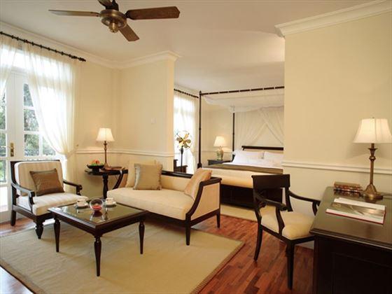 Living room at Cameron Highlands Resort