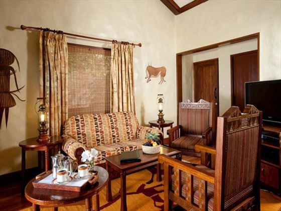 Living room at Ngorongoro Serena Safari Lodge