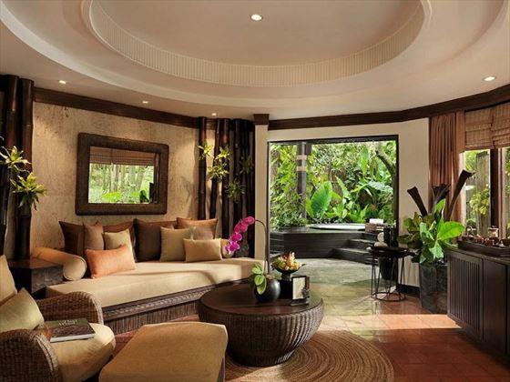 Living room at Rayavadee