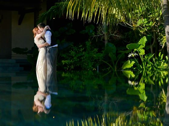 Beautiful weddings at LUX* Le Morne