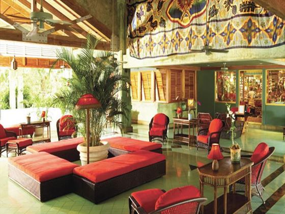 Lobby area at Couples Negril