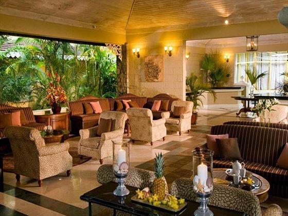 Lobby at Sandals Halcyon Beach St Lucia