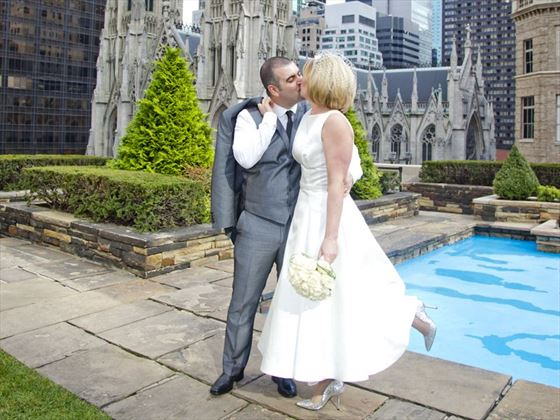 Rockefeller Center Loft & Garden Wedding