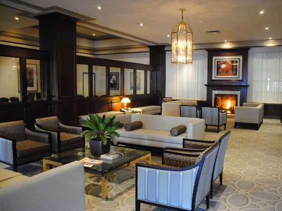 The lobby at Lord Elgin