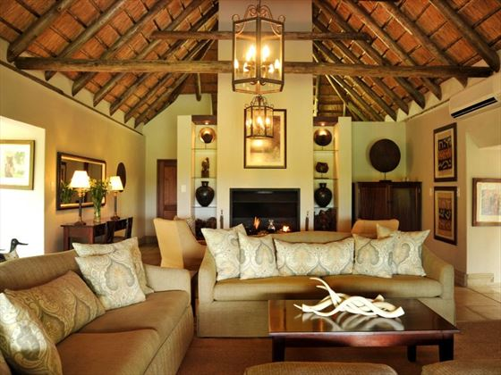 Lounge area at Savanna Lodge