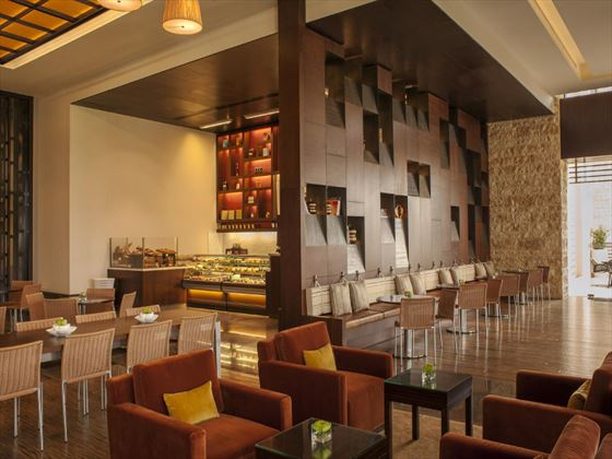 Lounge restaurant at Westin Abu Dhabi