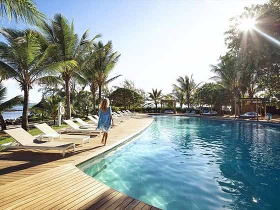 Banyan Tree Pool at Lux Belle Mare
