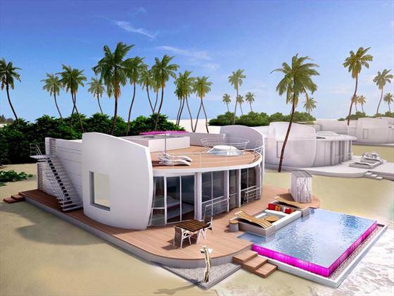 Residence exterior - artist's impression