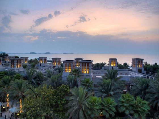 Jumeirah Dar Al Masyaf, Madinat Jumeirah - rooftop view