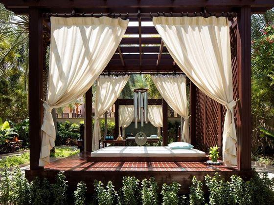 Jumeirah Al Naseem - Talise Spa secret garden cabana